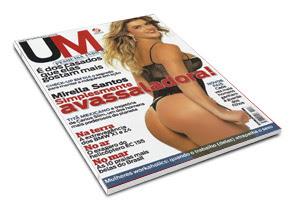 Baixaki  Revista Um – Mirella Santos