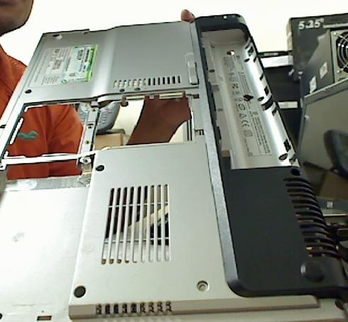 How To Disassemble an HP DV100 LAPTOP