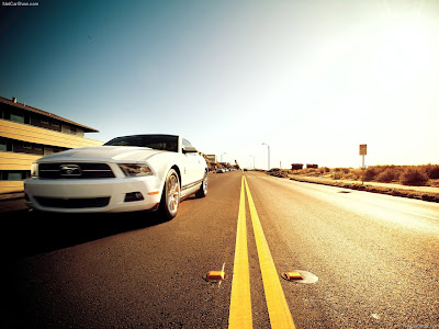 new car Ford Mustang V6 2011 wallpaper