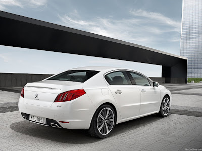 Peugeot 508 2011 saloon picture