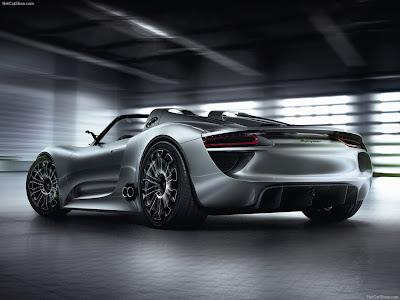 Porsche 918 Spyder Hybrid car picture