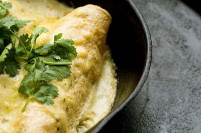 Recipe chicken and sour cream enchiladas