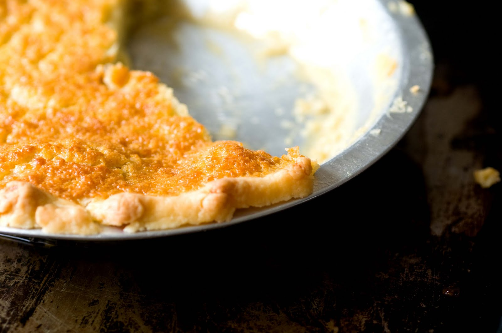 Buttermilk pie | Homesick Texan