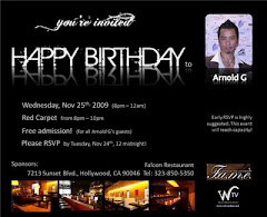 Happy Birthday to Arnold G