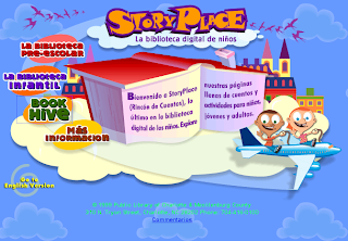 StoryPlace Bibliotecas digitales para niños