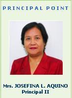 Mrs. JOSEFINA L. AQUINO  Principal II