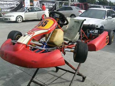 Red Cart Racing Vehicles