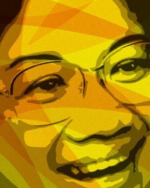 Corazon C. Aquino in Yellow