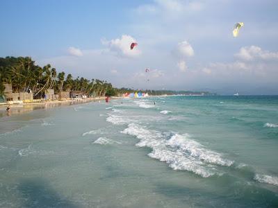 Sand in Boracay