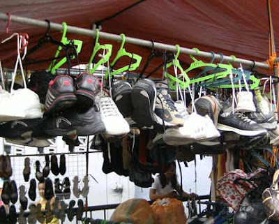used clothing shoes