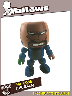 Shocker Toys - Wizard Tour 2010 Exclusive Mr. Gone Mallows Vinyl Figure