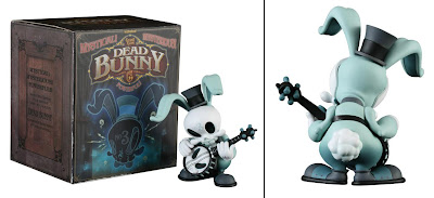Kidrobot - Dead Bunny 6.5 Inch Vinyl Figure and Packaging by Brandt Peters