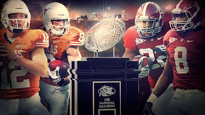 2010 BCS National Championship Game - #1 Alabama Crimson Tide vs #2 Texas Longhorns