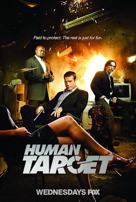 The Human Target Cast Photo Television Poster