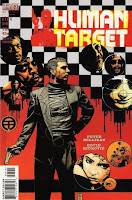 Vertigo Comics - Human Target #1 Comic Book Cover Artwork