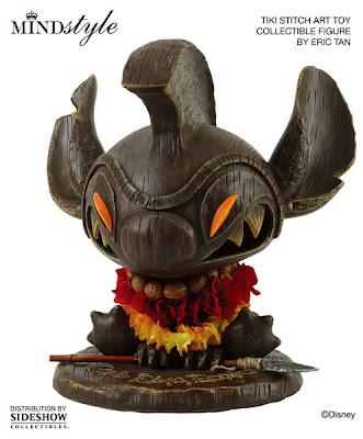 MINDstyle x Disney Tiki Stitch Art Toy Collectible Vinyl Figure by Eric Tan