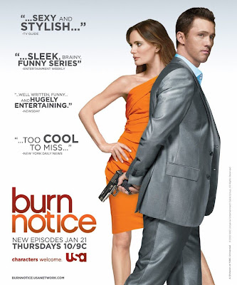Burn Notice Season 3.5 Television Poster