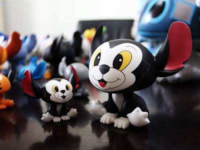 MINDstyle x Disney 5 Inch Figaro Stitch Vinyl Figure Sneak Peek