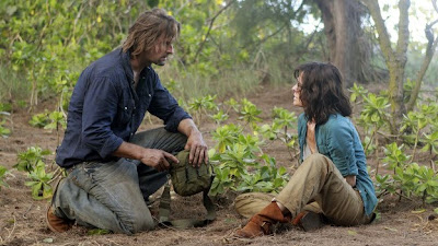 Lost - Recon - Josh Holloway as James Sawyer Ford and Sheila Kelley as Kendall