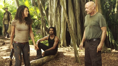 Lost - Recon - Evangeline Lilly as Kate Austen, Naveen Andrews as Sayid Jarrah & Terry O'Quinn as John Locke