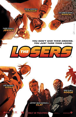 The Losers Comic Book Inspired Illustrated One Sheet Movie Poster