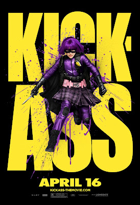 Kick-Ass Character One Sheet Movie Posters Set 3 - Chloe Grace Moretz as Hit-Girl