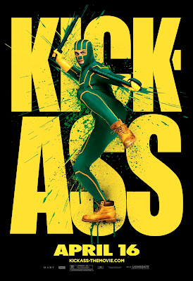 Kick-Ass Character One Sheet Movie Posters Set 3 - Aaron Johnson as Kick-Ass
