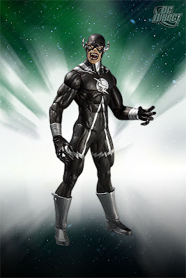 DC Direct Blackest Night Series 8 - Black Lantern Black Flash Action Figure