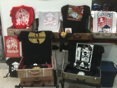 The Johnny Cupcakes Suitecase Tour Exclusive T-Shirts
