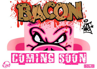 Wizard Sleeve Toys Exclusive Bacon Mad'l Vinyl Figure by Sket-One Teaser Image