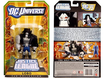 MattyCollector.com Exclusive Lobo Justice League Unlimited Action Figure in Packaging