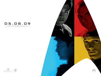 Star Trek Character Movie Posters Set 2 - John Cho as Sulu, Simon Pegg as Scotty, Anton Yelchin as Chekov & Karl Urban as Dr. McCoy