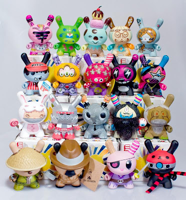 Kidrobot - Dunny Series 5 - The Complete Set of Designer Vinyl Figures (front)