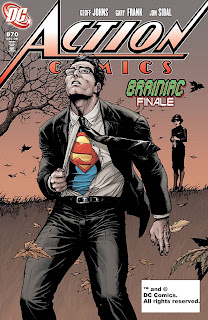 DC Comics - Action Comics #870 Cover Artwork