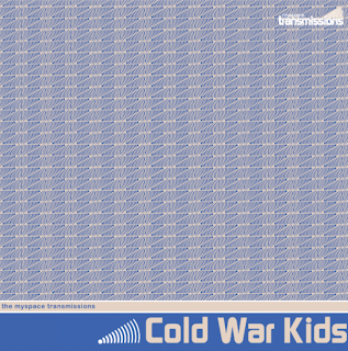 Cold War Kids - The MySpace Transmissions, Vol. 8 Album Cover