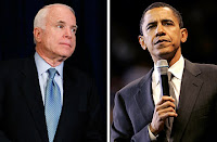 The 2008 Presidential Candidates - John McCain and Barack Obama