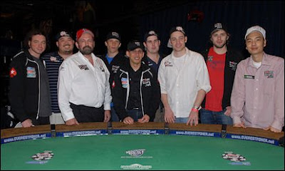 The 2008 World Series of Poker November Nine