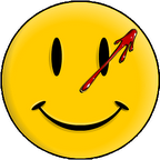 Watchmen - Blood Splattered Smiley Face logo