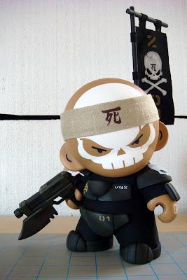 Huck Gee - ZOR Dread Squad - Sgt. Vasquez Custom Munny