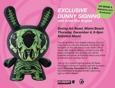 Kidrobot - Ron English 8 Inch Dunny Flyer