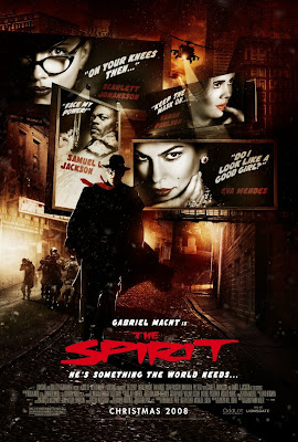 The Spirit Final Theatrical One Sheet Movie Poster
