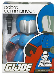 G.I. Joe Mighty Muggs Wave 1 - Cobra Commander Mighty Mugg in Package