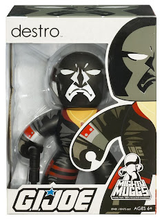 G.I. Joe Mighty Muggs Wave 2 - Destro Mighty Mugg in Package