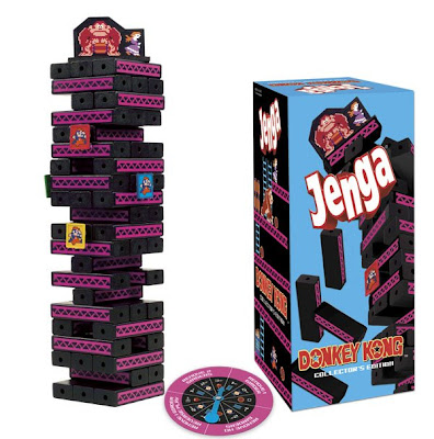 Jenga: Donkey Kong Collector's Edition Board Game and Package