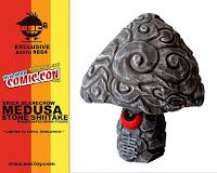 ESC Toy – Medusa Stone Shiitake Resin Figure by Erick Scarecrow