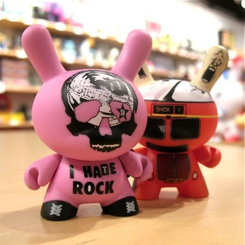 Ye Olde English UK Dunny Series - Keanan Duffty and Shok-1 Mystery Dunnys