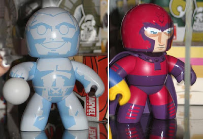 Target Exclusive Marvel Legends Mighty Muggs - Iceman and Magneto Mighty Muggs