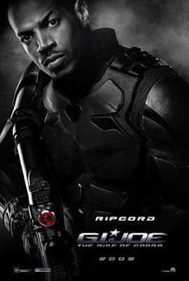 G.I. Joe: Rise of Cobra Character Movie Posters Set 1 - Marlon Wayans as Ripcord