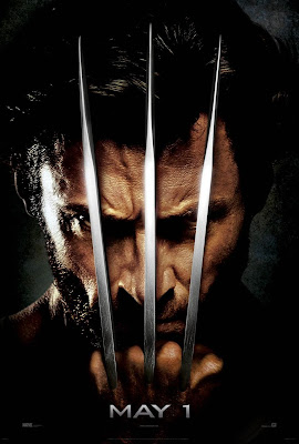 X-Men Origins: Wolverine Second Teaser Movie Poster
