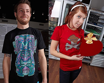Johnny Cupcakes - Limited Edition Totem Pole and Valentines T-Shirts